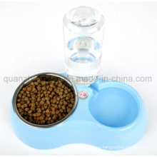 OEM Plastic Stainless Steel Automatic Supply Water Pet Cat Bowl