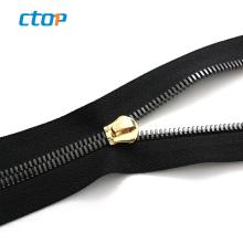 Wholesale fancy custom decoration sbs auto lock slider zipper fast selling shoe zipper wholesale price nylon zipper