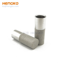 sintered stainless steel porous   agriculture greenhouse temperature and humidity sensor housing enclosure dew point housing