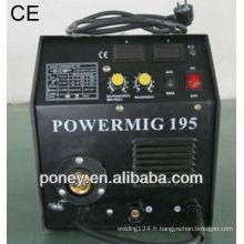 Convertisseur de matériau approuvé en acier mma mig soudage soudure soudure par soudure par gaz industriel
