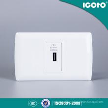L105u USB Standard USB Plug Charger Power Point Interrupteur et prise murale électrique
