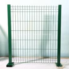 Enduit PVC panneau de barrière métallique soudé 3D