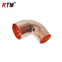 Encaixe de tubulação de cobre do cotovelo de 90 graus