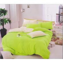 Luxuoso algodão colorido edredão conjunto conjunto de cama