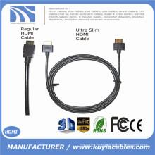 Ultra Slim HDMI Cable 6ft 1.4 версия - Высокоскоростной HDMI с Ethernet 3D, PS4, XBox Один 1м 2м 3м 5м 10м