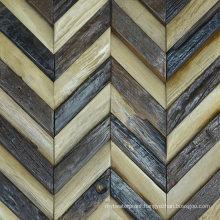 High Quality Mosaic Parquet Engineered Flooring Antique Wood Mosaic Tile