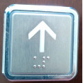 Квадратные кнопки Лифт, Лифт нажать переключатель (ОТП-7)