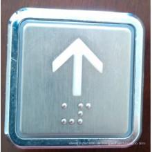 Quadratische Taste Aufzug/Lift, Aufzug, schieben Sie Schalter (TNA-7)