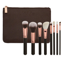 8PCS Rose Golden Luxury Cosmetic Brush Set (ST0803)