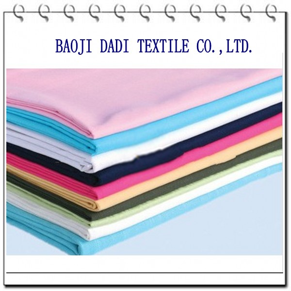 133X72POLYESTER 65 COTTON 35 DYED TEXTILE