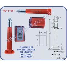 Behälterdichtung BG-Z-011, Sicherheitsbolzendichtung, LKW-Türdichtung
