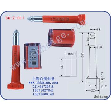 Shipping bolt seals ,bolt seal BG-Z-011