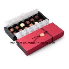 Бумага для упаковки подарков из шоколада ручной работы