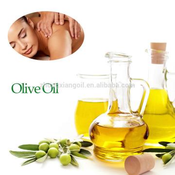 Aceite de base cosmética al por mayor de aceite de oliva virgen orgánico.