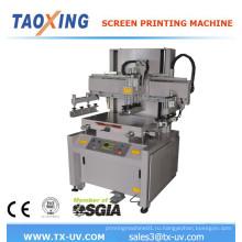 Джутовая сумка керамическая машина для трафаретной печати