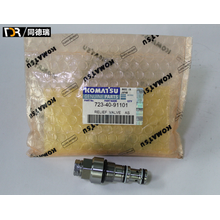 PC130-7 Main Relief Valve 723-30-90101 Excavator Parts