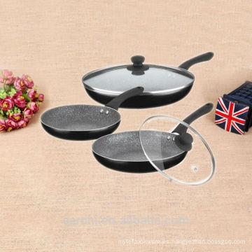 Utensilios de cocina de esmalte antiadherente de China por mayor