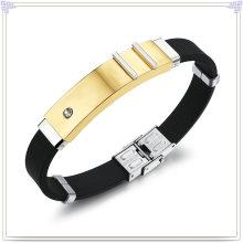 Rubber Bracelet Wrist Band Silicone Bracelet (LB222)