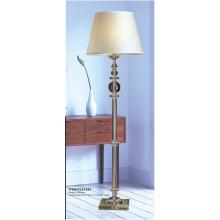 Modern White Shade Crystal Floor Lamp (FL21281)