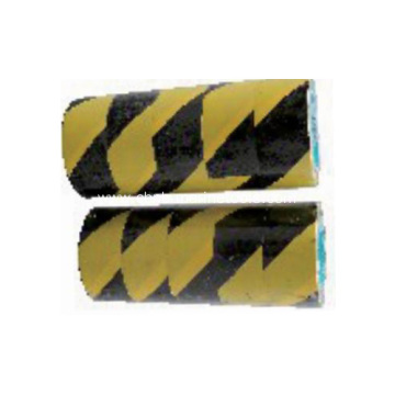 Black and Yellow Hazard Warning Reflective Tape