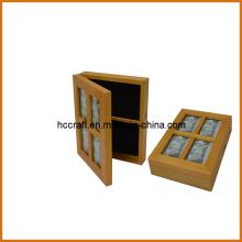 Деревянная коробка для домашнее украшение