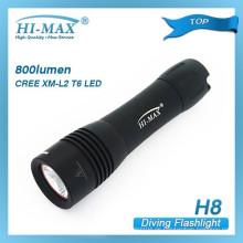 Hi-max H8 cree xm-l t6 samll back-up Tauchlicht