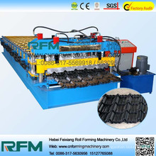 FX features of glazed tile making machine