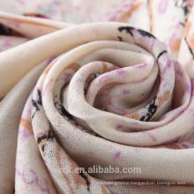 Women Winter Warm Scarf Artificial Wool Long Scarf Wrap Shawl Plaid Knit Scarf