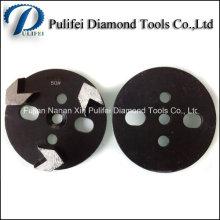 Outils de diamant de plancher en béton HTC Rectifiant et disque de meulage de trapèze