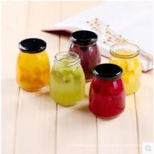 Mini armazenamento Garrafas de vidro para pudim, mel, geléia, jarra de comida