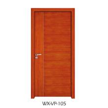 Конкурентная деревянная дверь (WX-VP-105)