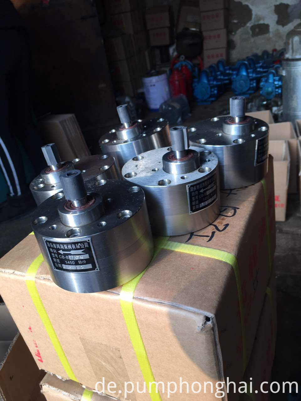 micro hydraulic gear pump