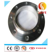 Flange de aço inoxidável AISI / ASTM 201 202 do impulso