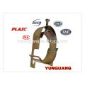 Pôle d'assemblage pôle Acier pinces accessoires galvanisé pôle matériel raccord colliers de tuyauterie en acier