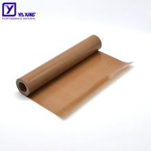 China Factory High Temperature Resistance PTFE Fiberglass Fabric For Sale