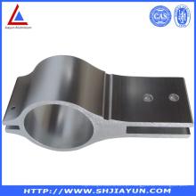 6063 Tubo de alumínio anodizado com furos de perfuração
