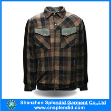 Guangdong Manufacturer Custom Square Design Men Jacket