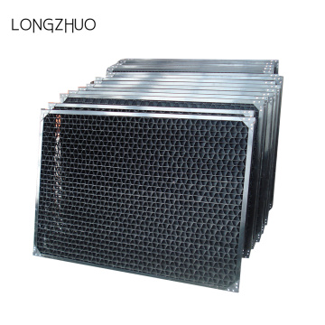Bekalan HVAC Cooling Tower PVC Air Inlet Louver