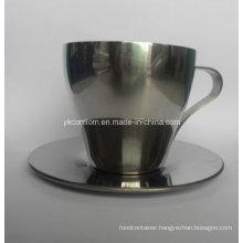 300ml Stainless Steel Coffee Mug Set