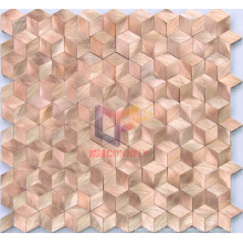 Featured Rhombic Aluminium Metal Mosaic (CFA44)