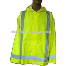 Storm Cover advertencia seguridad reflexiva Rainwear
