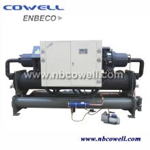 Compressor de Parafuso Duplo Refrigerador Refrigerado a Água