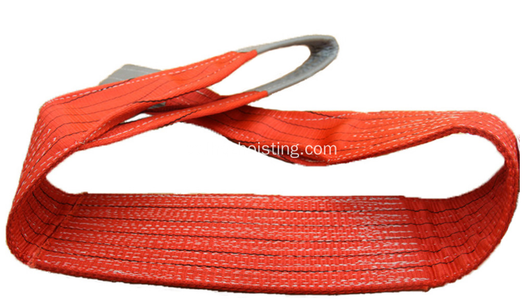 Correia de levantamento do estilingue do webbing de 10ton poiyester
