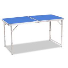 Novo design ao ar livre dobrável mesa de acampamento mesa de piquenique portátil para o tempo de lazer
