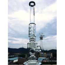 Borosilikat Pyrex Recycler Faberge Ei DAB Öl Rigs Glas Rauchen Wasser Rohr