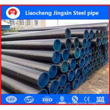Tubo de acero sin costura de 141 * 6 mm