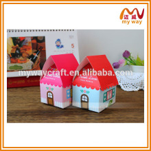 house shape candy box, wedding gifts for guests