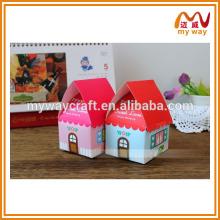 Caixa de doces em forma de casa, presentes de casamento para convidados