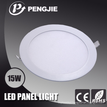 15W White LED Panel Light (Round)