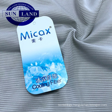 home textile bedding clothing quick dry micax cool feeling nylon stripe knit jersey fabric